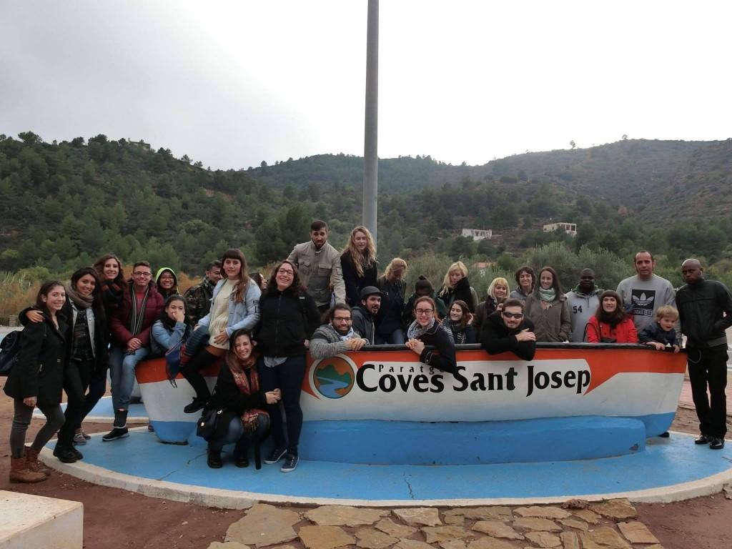 Excursión cuevas Sant Josep