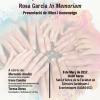 "Presentación del libro ""Tendresa i Equitat en els Processos de Cura, Rosa García In Memoriam""."