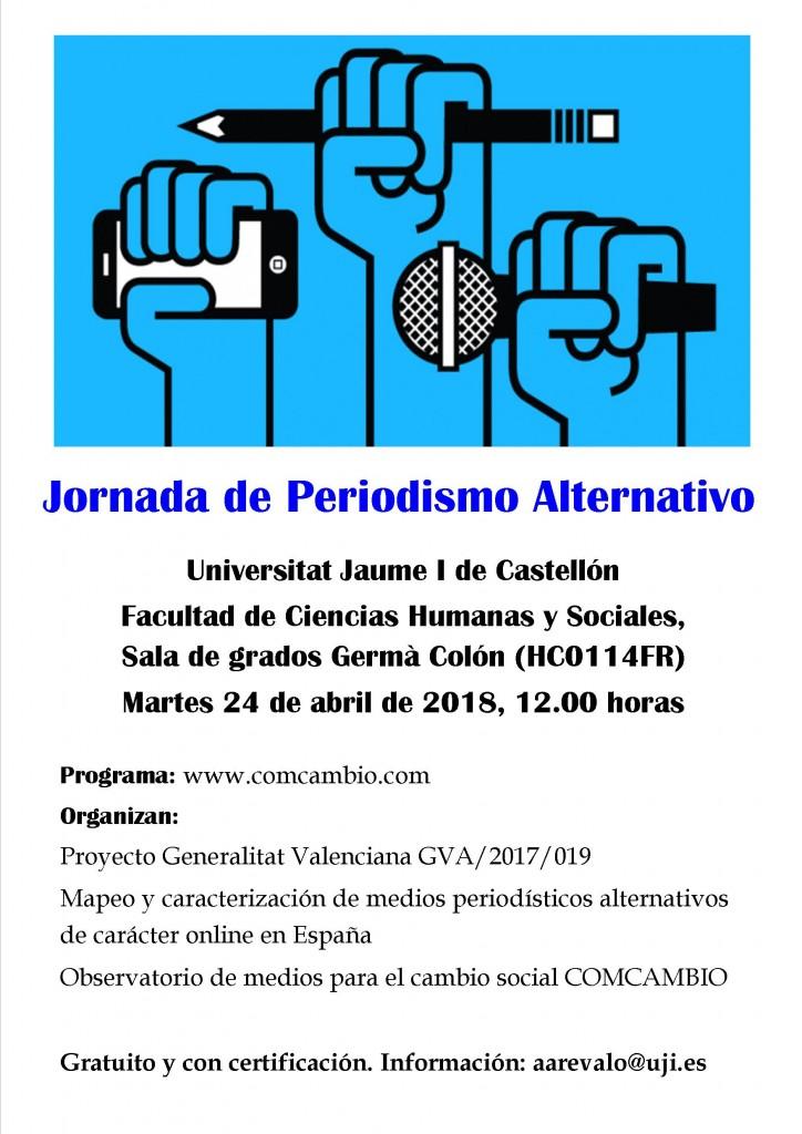 Jornada de periodismo alternativo
